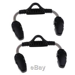 2pcs Spring Heel Straps Quick Release Buckle for Scuba Diving Snorkeling Fin