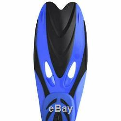 Adults Professional Diving Fins Full Foot Silicone Adjustable Scuba Swim Shoes