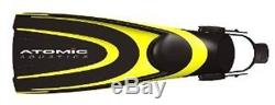 Atomic Aquatics Blade Fin for Scuba Diving and Snorkeling Fin, Large, Yellow