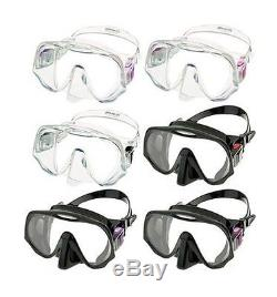 Atomic X1 Blade Fin Frameless Mask and SV1 Snorkel Package For SCUBA Diving