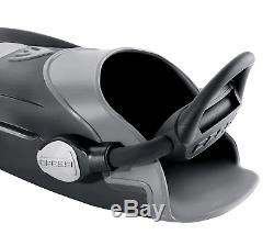 Cressi Ara, Scuba Diving Adult Open Heel Fins with Bungee Strap, Made in Italy