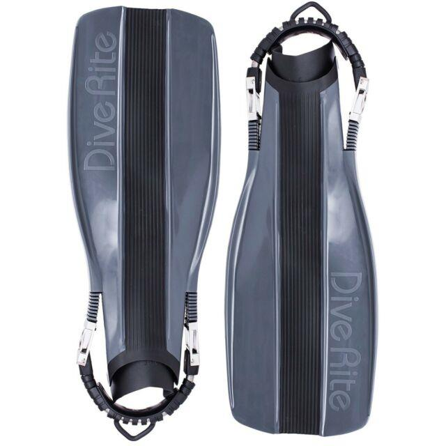 Dive Rite Xt Scuba Diving Fins With Stainless Steel Spring Straps