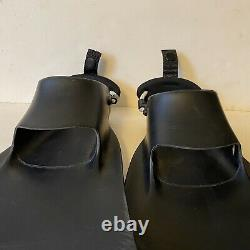 FORCE FIN- Scuba Fins Diving, Size XL, Black Made in USA