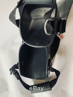 Force Fin Pro Large Navy Seal Diving Scuba Military Fins Excellent Condition