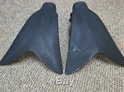 Force Fin Pro Large Navy Seal Diving Scuba Military Fins Great Condition