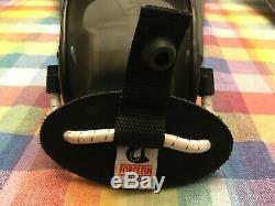 Force Fin Pro Scuba Fins Diving Flippers Large Black Used Bungee Strap