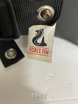 Force Fin Vintage Early Scuba Dive Fins Size XXL Made in USA