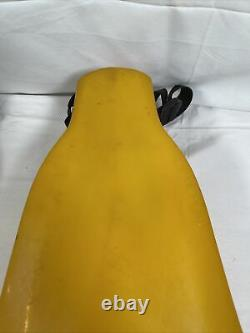 Force Fin for Diving, Scuba Large Used Yellow