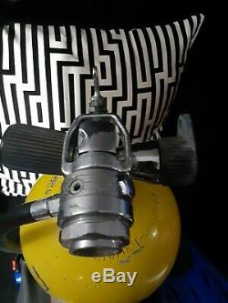 Luxfer Gas Cylinder 3AL3000 Scuba Diving Tank 3000PSI WITH BREATHER AND FINS