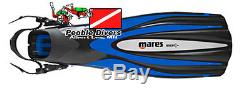 Mares Excel + Open Heel Scuba Diving Fin with Greater Thrust and Power