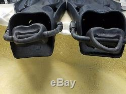 Mares Power Plana Scuba Diving Fins Size R Brand New