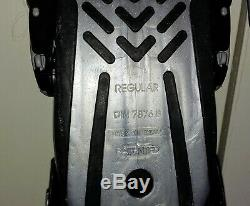 Mares Volo Power Black And Silver SI Size Regular Scuba Diving Fins Flipper