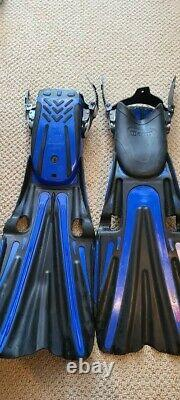 Mares Volo Power Scuba Dive Fins X-Large with Mares Bungees