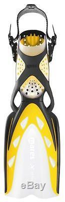 Mares X-Stream Open Heel Scuba Diving DiveFins Yellow All Sizes