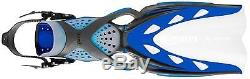 Mares X-Stream Open heel Scuba Diving and Snorkel Fins Small Blue