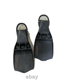 OMS slipstream SCUBA Tech Diving Fins XL with Spring Straps