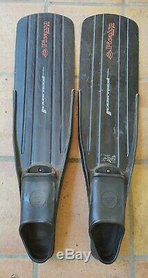 Picasso 34 Black Team Freediving Spearfishing SCUBA Diving Fins size 44-46