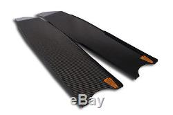 Pure Carbon Stereoblades Spearfishing Freediving Fins Scuba Diving Snorkeling