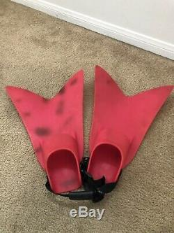 RED Force Fin Pro Large Navy Seal Diving Scuba Military Fins Swimming Snorkeling