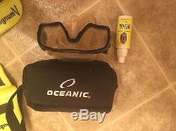 SCUBA DIVING GEAR BCD, Fins, And Goggles