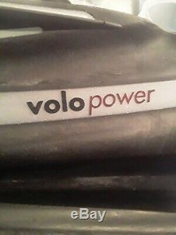 SCUBA Diving MARES Volo Power Fins Size Regular Black Silver Volopower Flippers