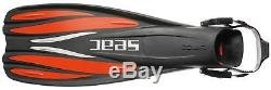 SEAC GP 100 SCUBA Diving Fins Red Large/X-Large