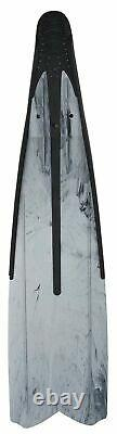 SEAC Unisex's Shout Camo S700, Long Fins for Scuba Diving, Spearfishing and F