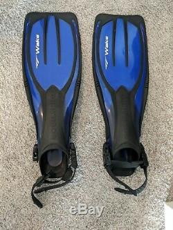 Scuba Gear Bag With Wetsuit Fins Mask Snorkel Dive Knife And Many Accessories