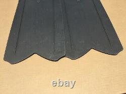 Seac Shout, Long Fins for Scuba Diving, Spearfishing and Freediving Size 12-13