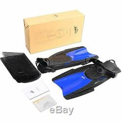 Snorkeling Fins Swimming Fins, Scuba Diving Full Foot With Adjustable Heel For