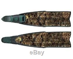 Sporasub Spitfire CAMU Camouflage Spearfishing Freediving Scuba Diving Fins
