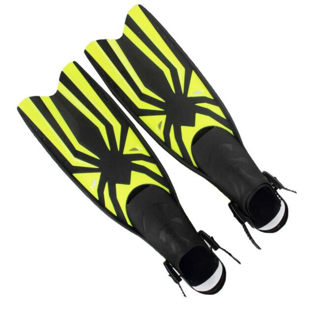 Swim Fins Flipper With Adjustable Strap For Scuba Diving Snorkeling Swimming