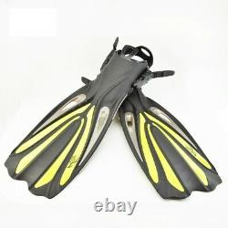 Swim Flippers For Scuba Diving Boots Shoes Adjustable Long Fins Snorkeling Gear