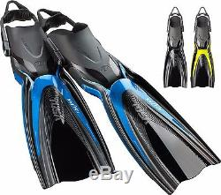 Tusa Hyflex Switch Scuba Dive Fins WINNER OF SCUBALAB TESTERS CHOICE FOR 2017