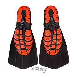 Wildhorn Mens Size 11 Hydro Fins Snorkel Scuba Dive Flippers, Manta Ray (6 Pack)