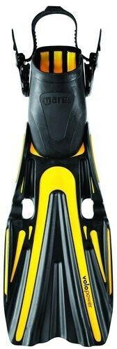 (x-large, Black) Mares Volo Power Scuba Diving Open Heal Fins In Black. Size